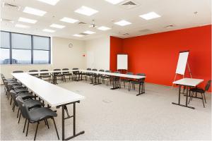 Sala w której przeprowadzane jest szkolenie Scrum Master