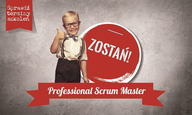 Zostań Proffessional Scrum Master